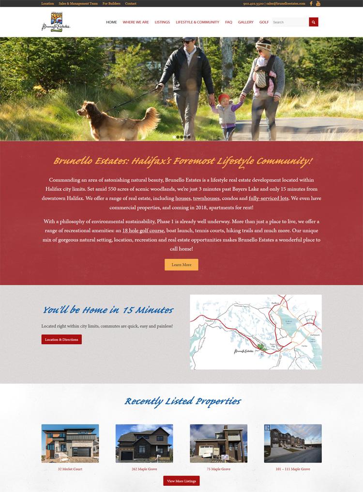 Brunello Estates - Home Page